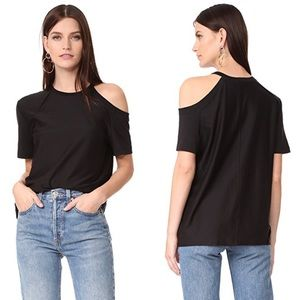 "Helmut Lang ""Deconstructed"" Black Tee K10"